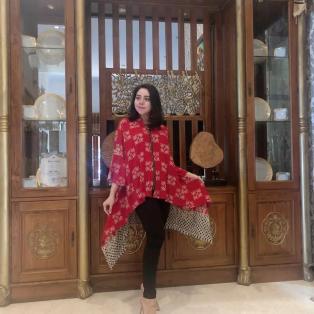 Batik Mawar Bahan Paris All Size