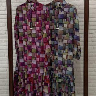 Dress Kotak-kotak